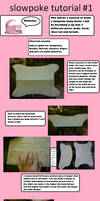 Slowpoke plush Tutorial