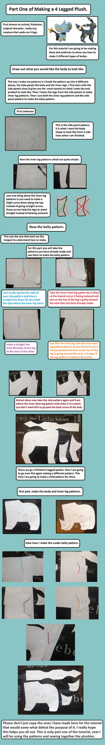 4 legged plush tutorial by Plush-Lore
