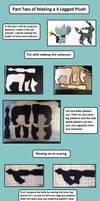 4 legged plush tutorial part 2 by Plush-Lore