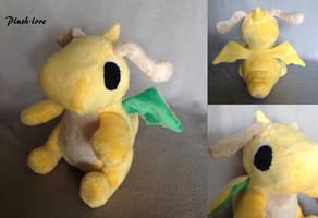 Dragonite Plush by Plush-Lore
