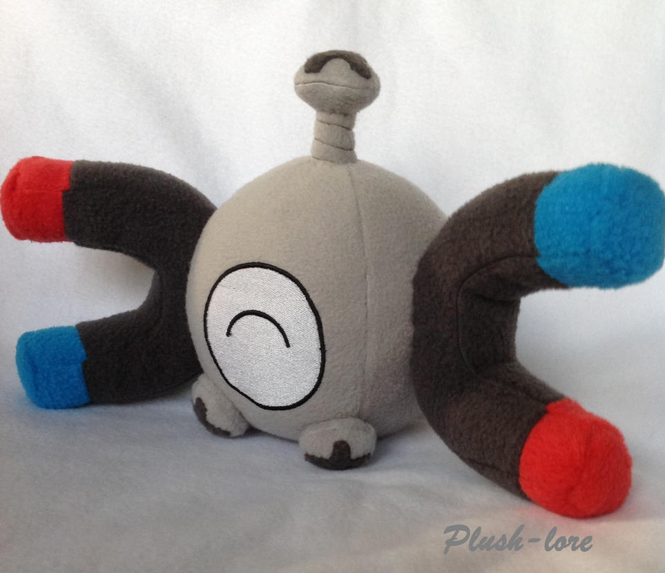 Happy Magnemite by Plush-Lore