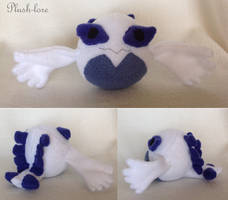 Lugia chibi by Plush-Lore