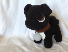 Pug Commission Plush by Plush-Lore