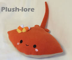 Halloween Pumpkin Spice Sea Pancake by Plush-Lore