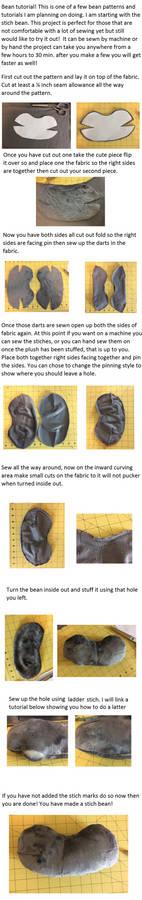 Plush Stitch Bean tutorial!
