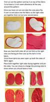 Love bean plush Tutorial by Plush-Lore