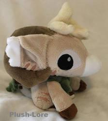 bagbean chibi plush by Plush-Lore