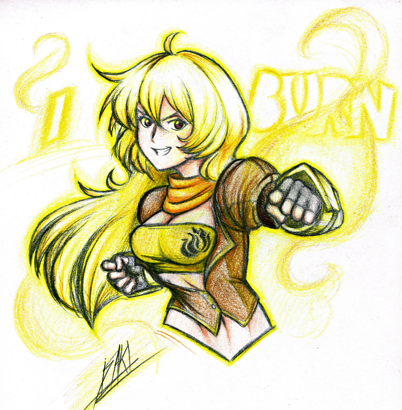 Yang Xiao Long Wallpaper: Yang Xiao Long By Men-dont-scream On DeviantArt