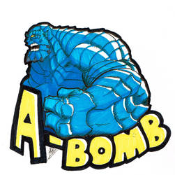 Rick Jones/A-Bomb sketch by Men-dont-scream