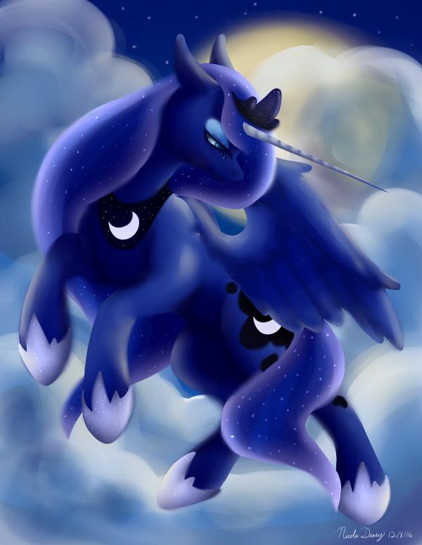 Princess Luna by Puppet-Runo