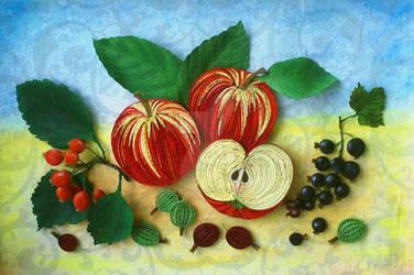 honeyed apples