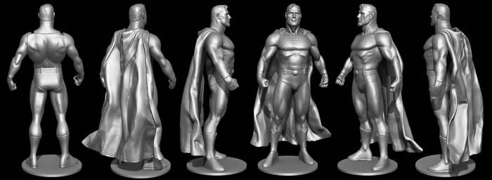 3D Scan of ActionFigures - SuperMan