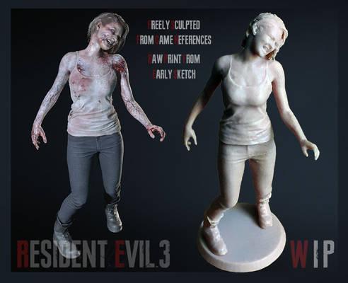 RE3R - Jill Zombie preview