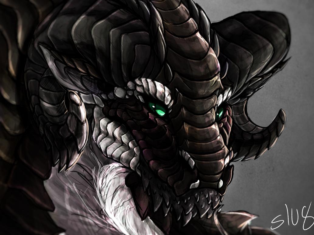 Earth Dragon: Earth Dragon By Slugwyrm On DeviantArt
