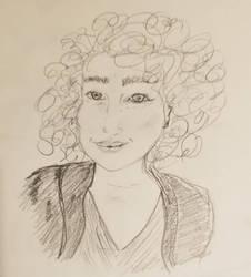 self portrait by ZanPowered