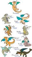 Dragonite Crossbreeds
