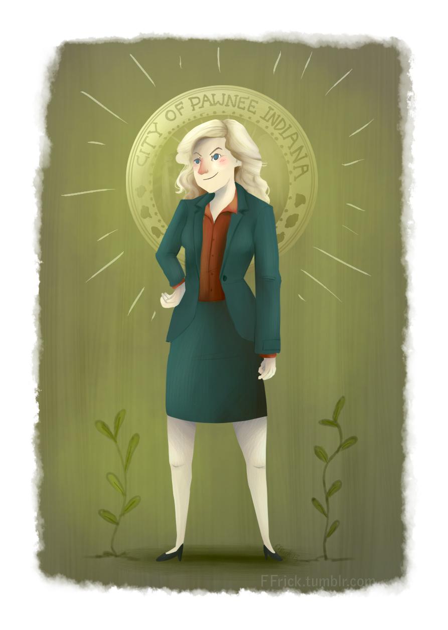 Leslie Knope by FernandaFrick