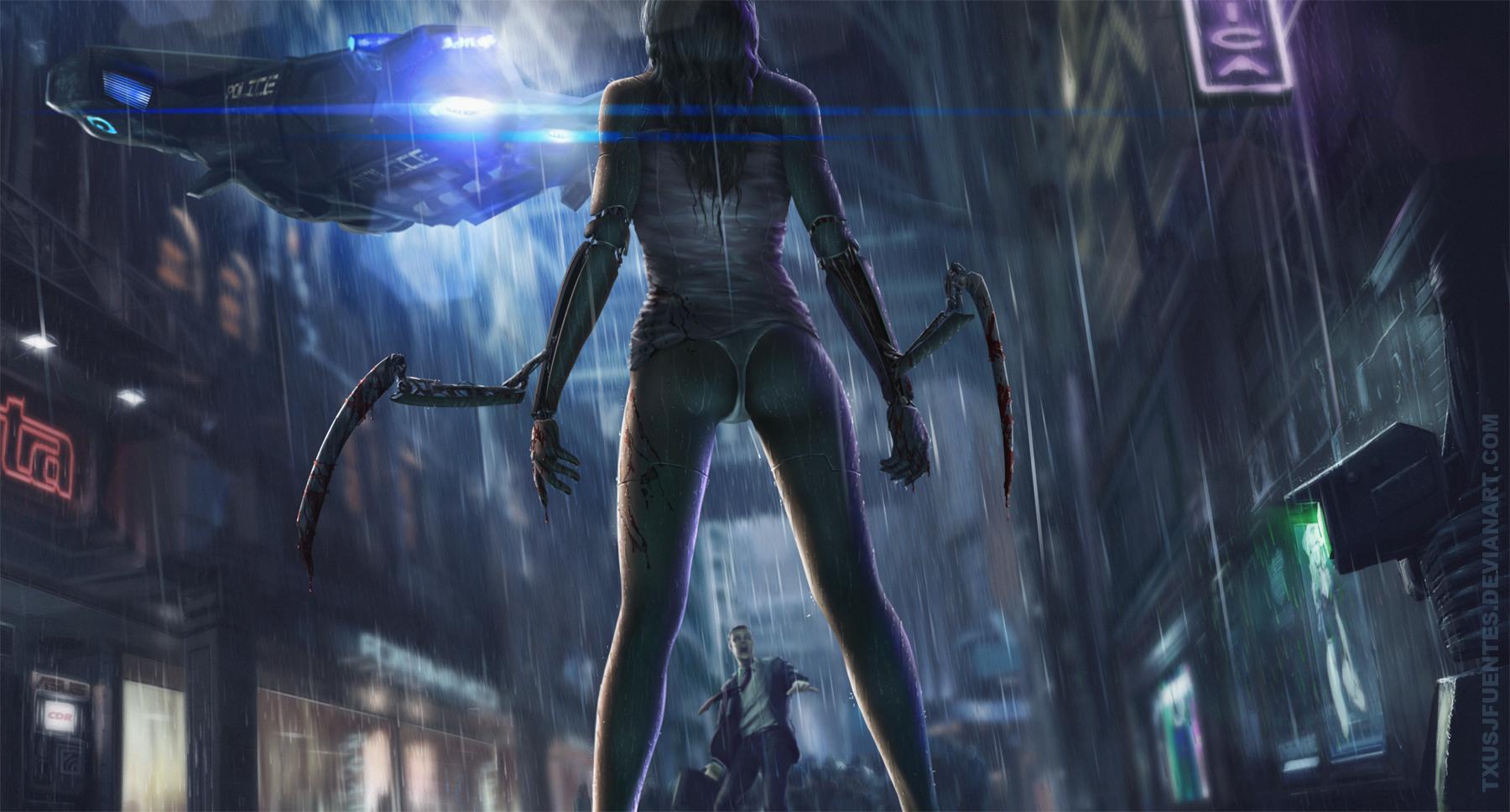 Cyberpunk 2077 fan art by Txusjfuentes on DeviantArt