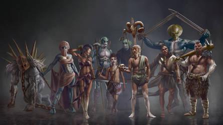ancient civilization by Txusjfuentes