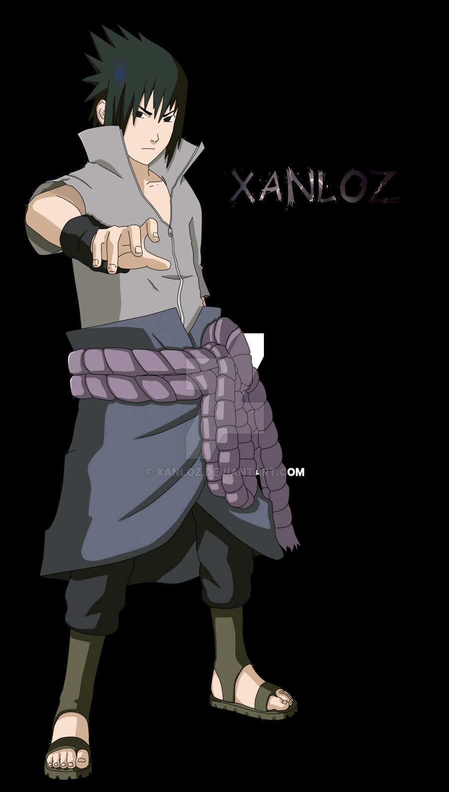 Sasuke by rOkkX on DeviantArt  |Sasuke Kirin Render