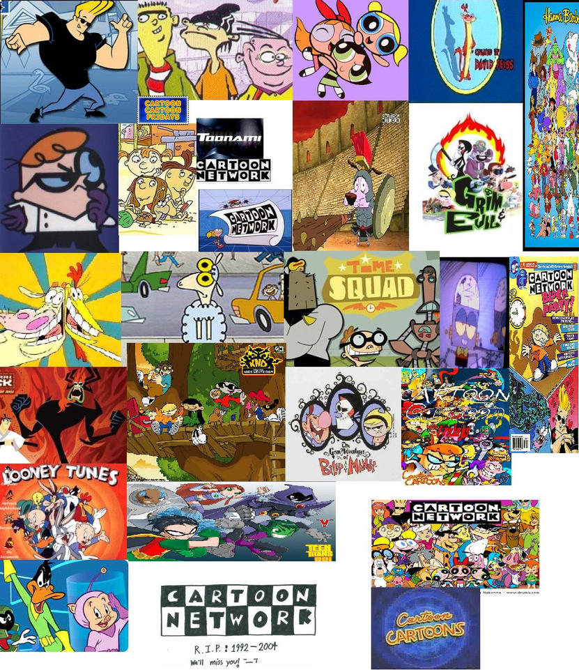 Cartoon Network Collage By Fanatic456