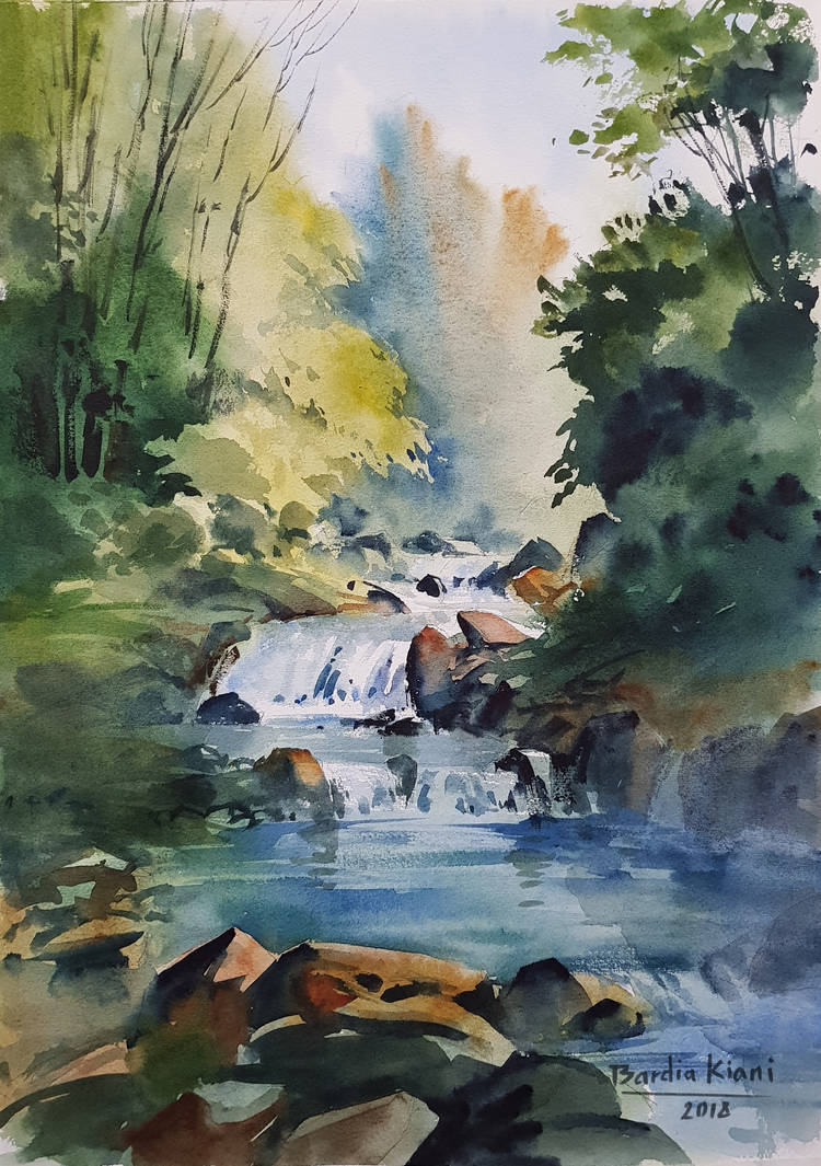 Watercolor by bkiani