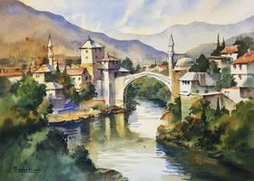 Mostar - stari most (2nd take)