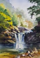 Shiba Yuetan Waterfall