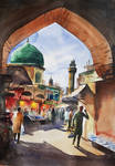 Streets Of Walled City Lahore