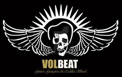Volbeat Skull Wings Logo By Gnyns On Deviantart