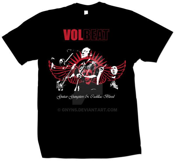 volbeat t shirt design by gnyns on deviantart. Black Bedroom Furniture Sets. Home Design Ideas