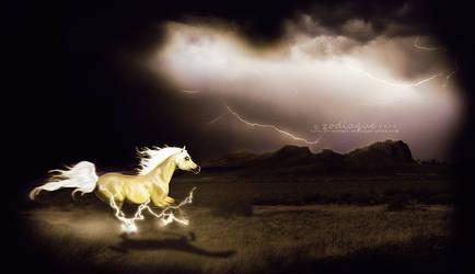 lightning pharaoh by zodiaque-stock