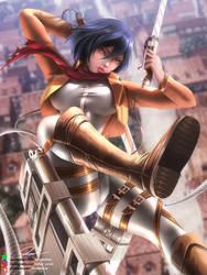 Mikasa Ackerman Illustration