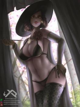 Lady Dimitrescu SEXY/NSFW