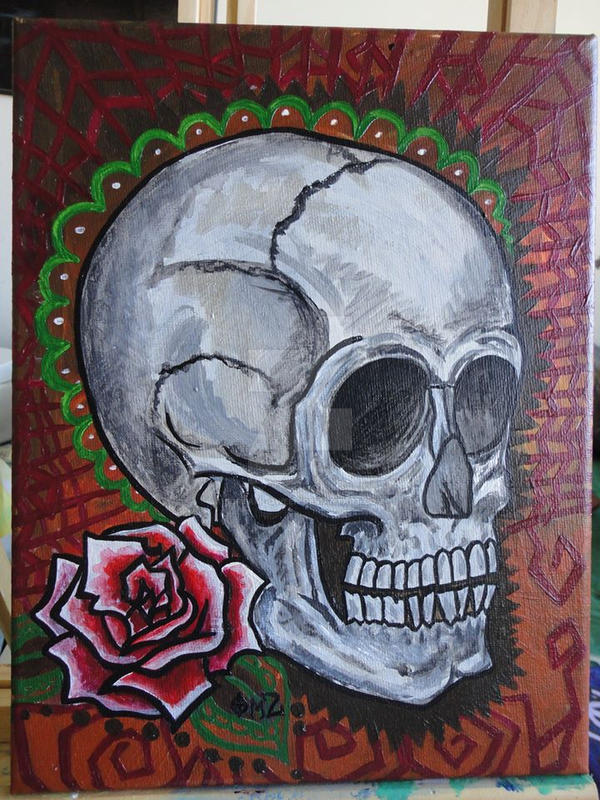 skull experiment by scream--qween