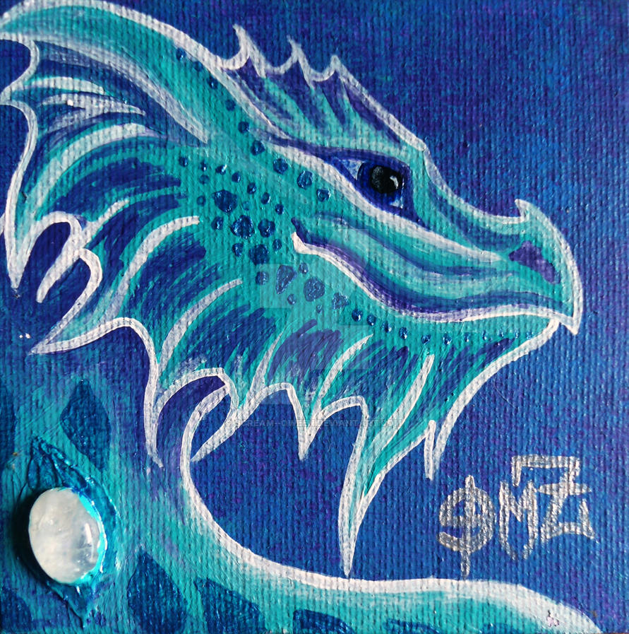 Water Dragon Mini  by scream--qween
