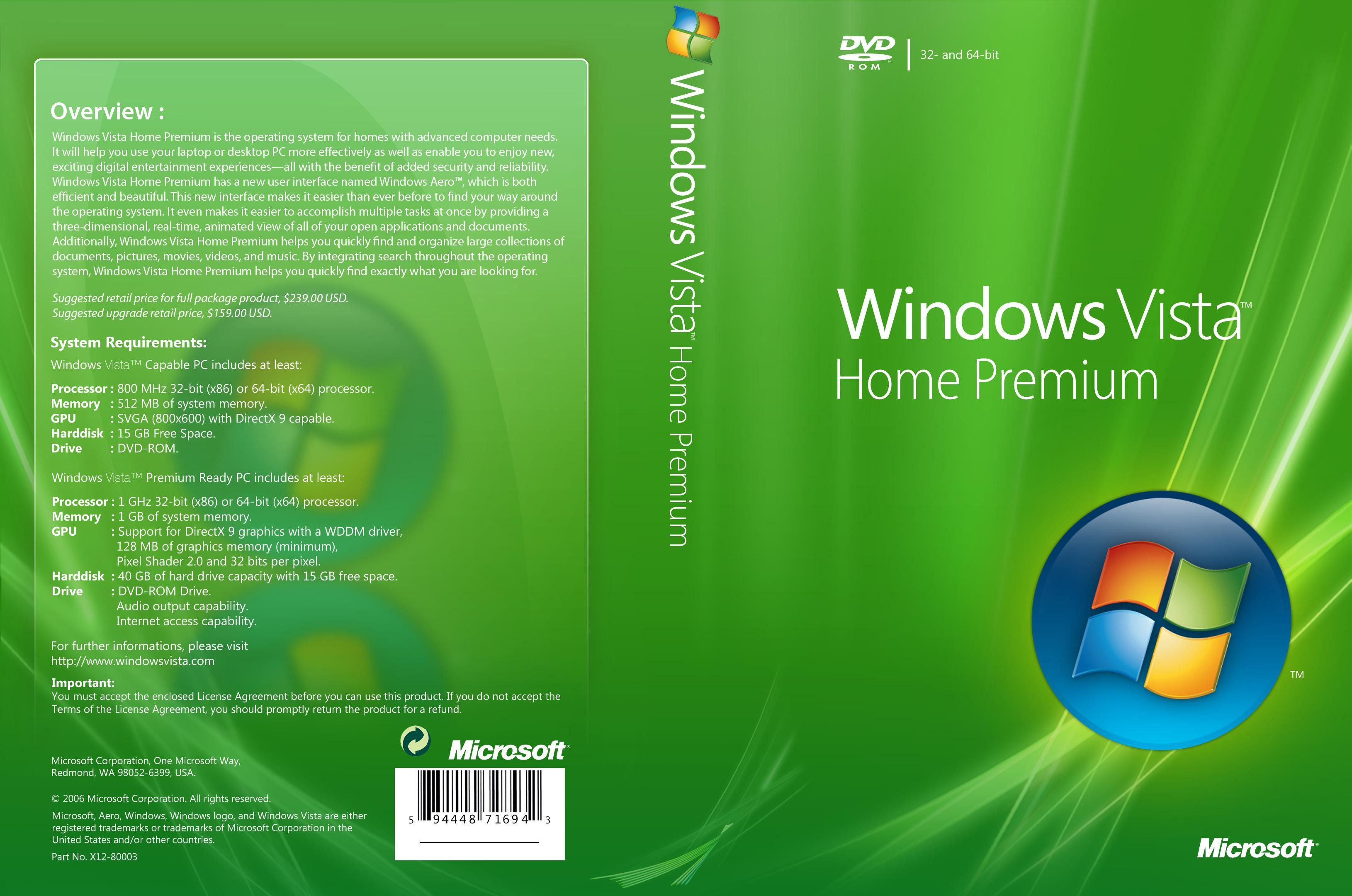 Windows  Home Premium Dvd