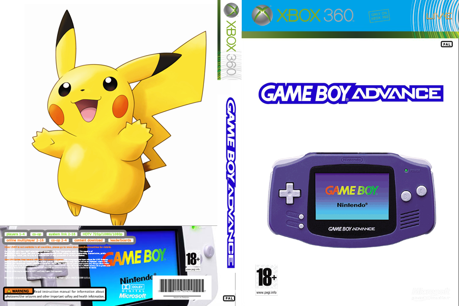 COVER - GAMEBOY ADVANCE - JTAG/RGH XBOX by wilson646 on