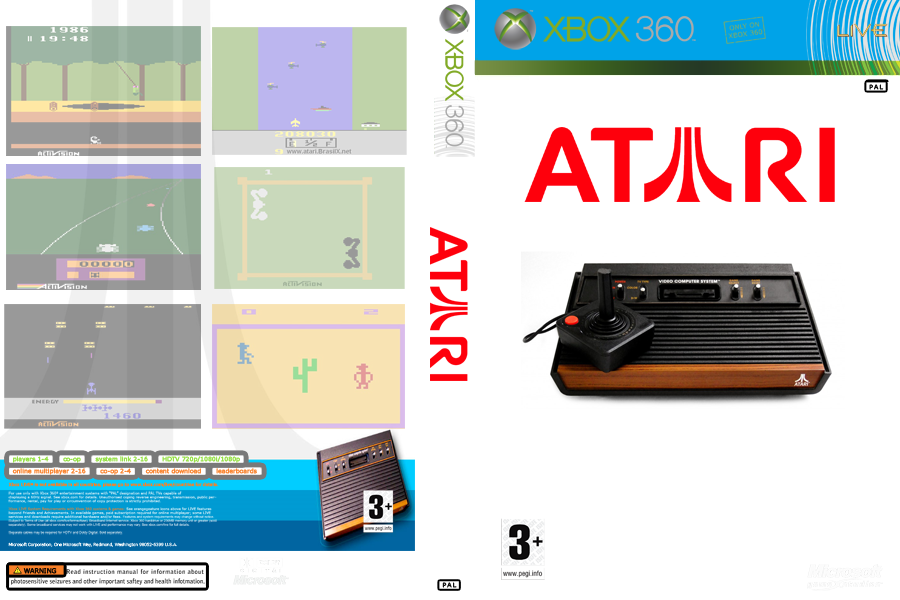 COVER - ATARI - JTAG/RGH XBOX by wilson646 on DeviantArt