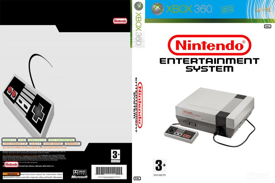 COVER - NES / NINTENDINHO - JTAG/RGH XBOX by wilson646 on DeviantArt