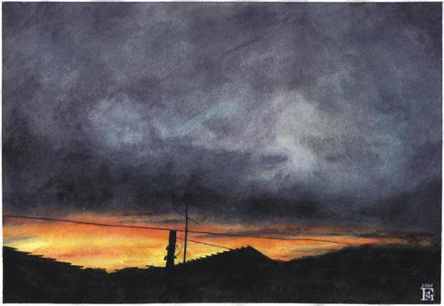 Sundown by filipefm