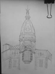 Lefvre-Utile Tower sketch by kamal-nuelex