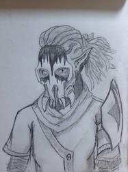 Kaleesh sketch by kamal-nuelex