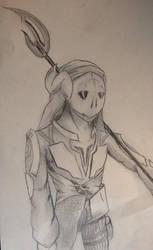Little sketch  by kamal-nuelex