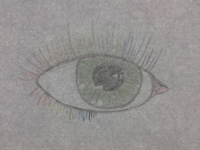 Rainbow Eye by Sharon1997