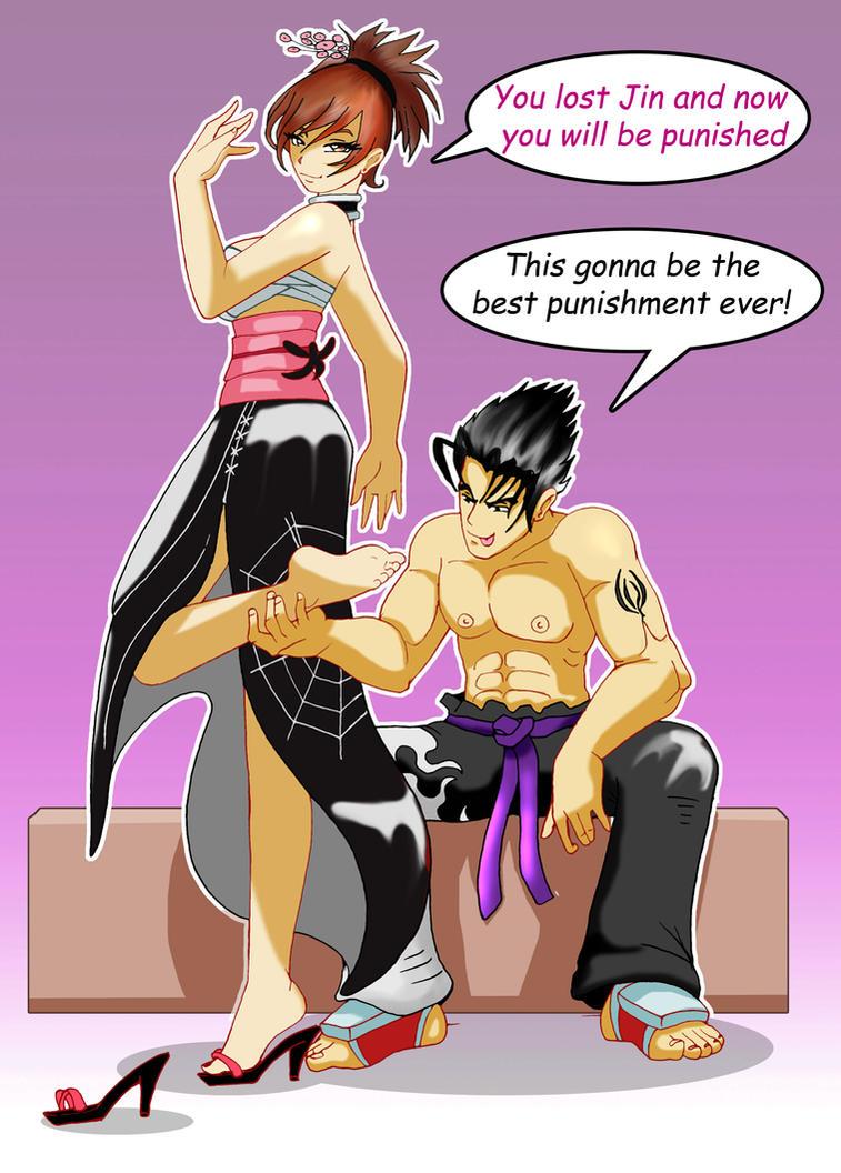 tekken jin and asuka relationship