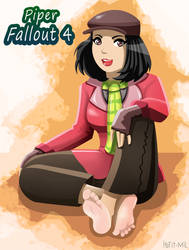 Piper Fallout 4 Barefeet by hofit-mil
