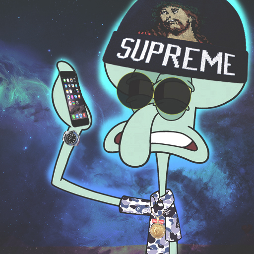 KING  BS 494701026 furthermore Blue WfTNy0vCu619u together with Hypebeast Squidward 634561681 together with Shark as well The Master Son Goku 536850494. on bape wallpaper anime