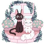 Jiji and Lily
