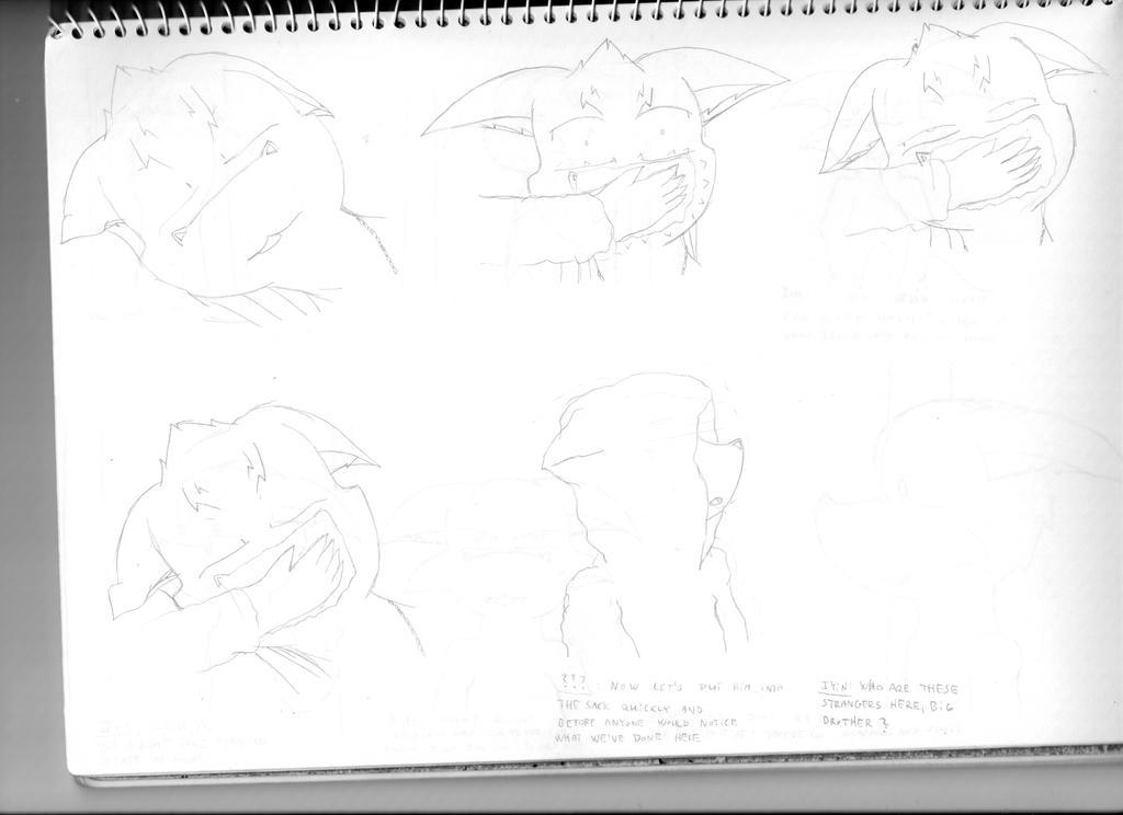 Antino: Chapter 1, pg 118 (sketch) by Niznize